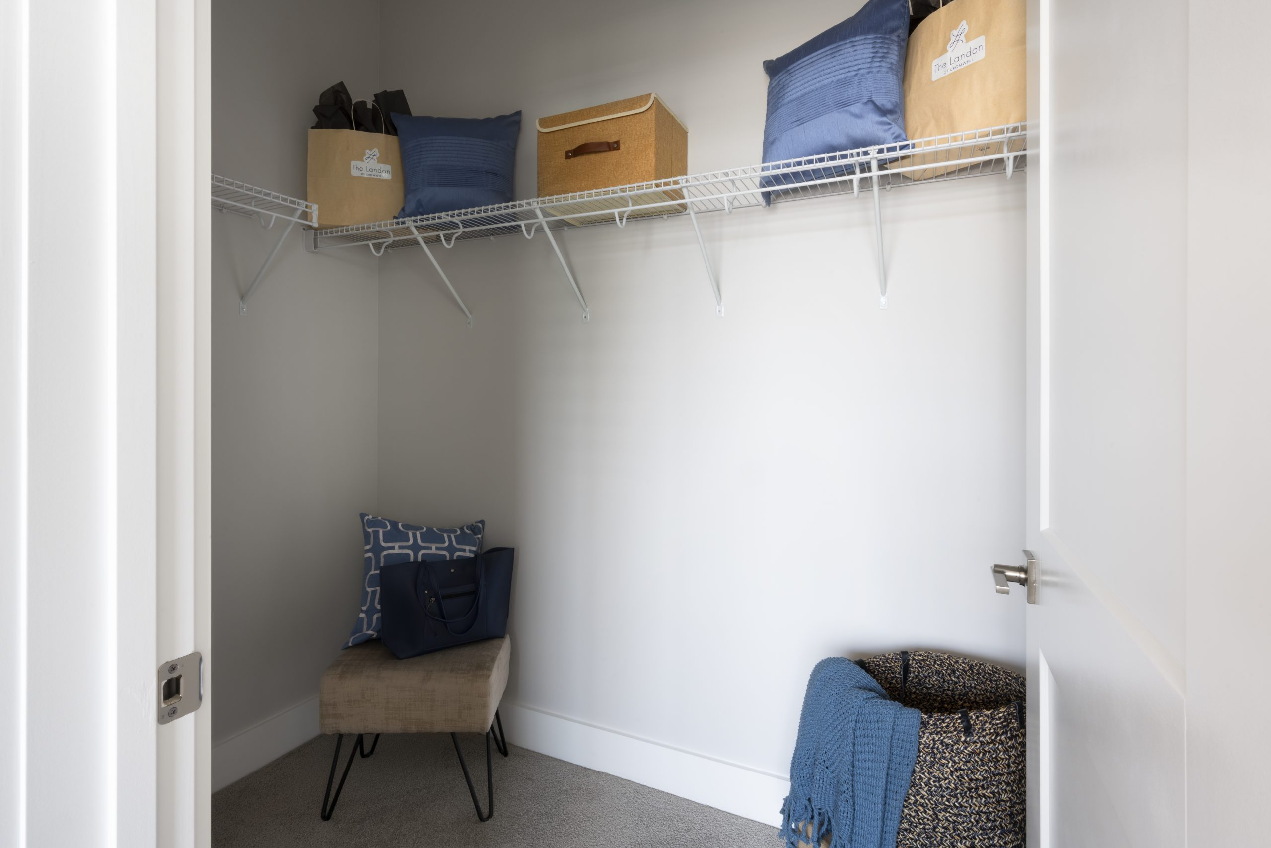 Not one, but two walk-in closets!